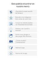 Screenshot of RAInfinitum Realidad Aumentada