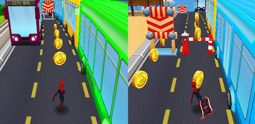 Subway Hero Surfers: Spiderman, Batman & Avengers game (apk) free download for Android/PC/Windows screenshot