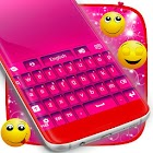 Hot Pink Color Keyboard icon