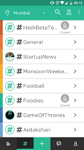 HASH - Local Social Network- screenshot thumbnail