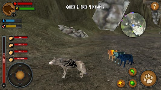 Wolves of the Forest screenshot 4