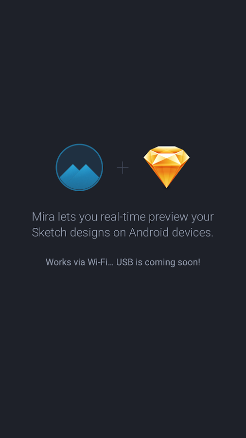 Mira: real-time preview Sketch- screenshot