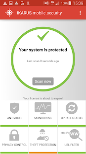 IKARUS mobile.security- screenshot thumbnail