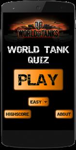 World Tank Quiz– Vignette de la capture d'écran