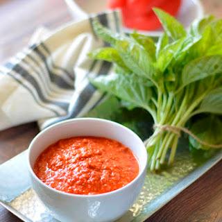 Paleo Romesco Sauce