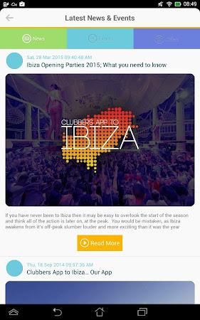 Clubbers App to Ibiza 3.6 screenshot 2092571