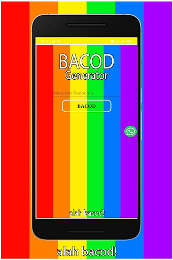 Bacod Generator screenshot 1