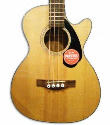 Corpo do baixo Fender Classic CB-60SCE Natural