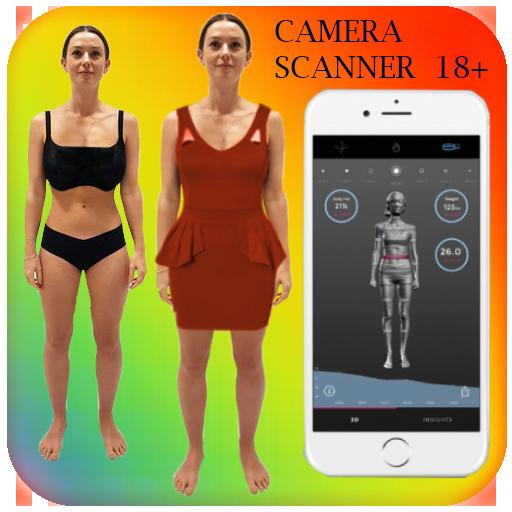 body scanner girl