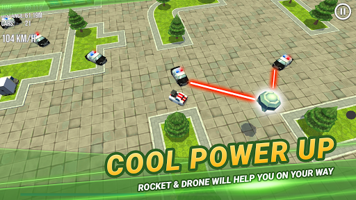 Code Triche Thief vs Police: Mini Car Racing APK MOD screenshots 5