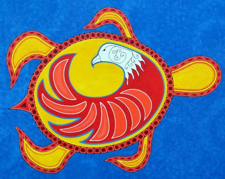 A poster from the Wagmatcook Aboriginal Art Festival at the Wagmatcook Culture & Heritage Centre.