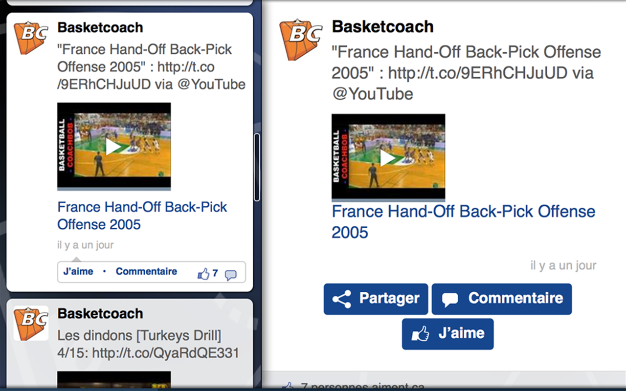 Basketcoach – Capture d'écran