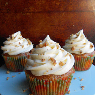 Carrot Cake Cupcakes With Browned Butter Cream Cheese Frosting