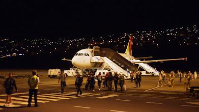 Photo: Arrivée de nuit a l aéroport