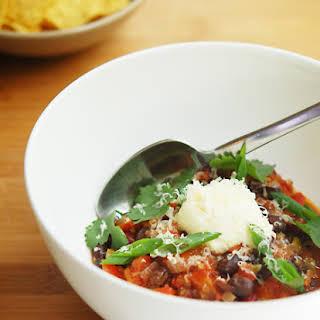 Smoky Vegetarian Chili.