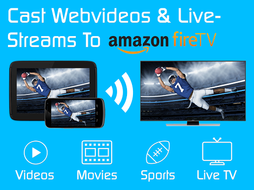 Video & TV Cast | Fire TV - Web Video Cast Browser 2.15 screenshots 5