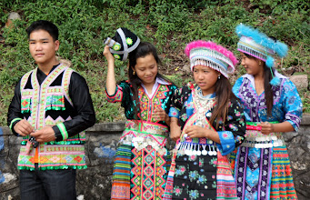 Photo: Day 263 - Group of Young People Involved in Religious Ceremony  (Laos)