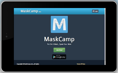 MaskCamp screenshot