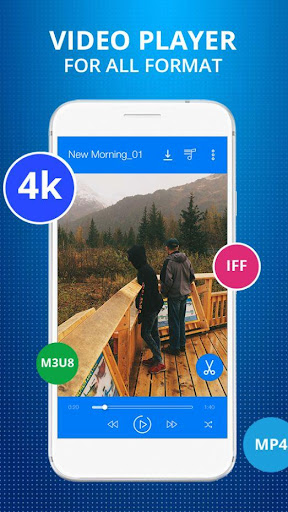 HD Video Player for Android 1.7 screenshots 1