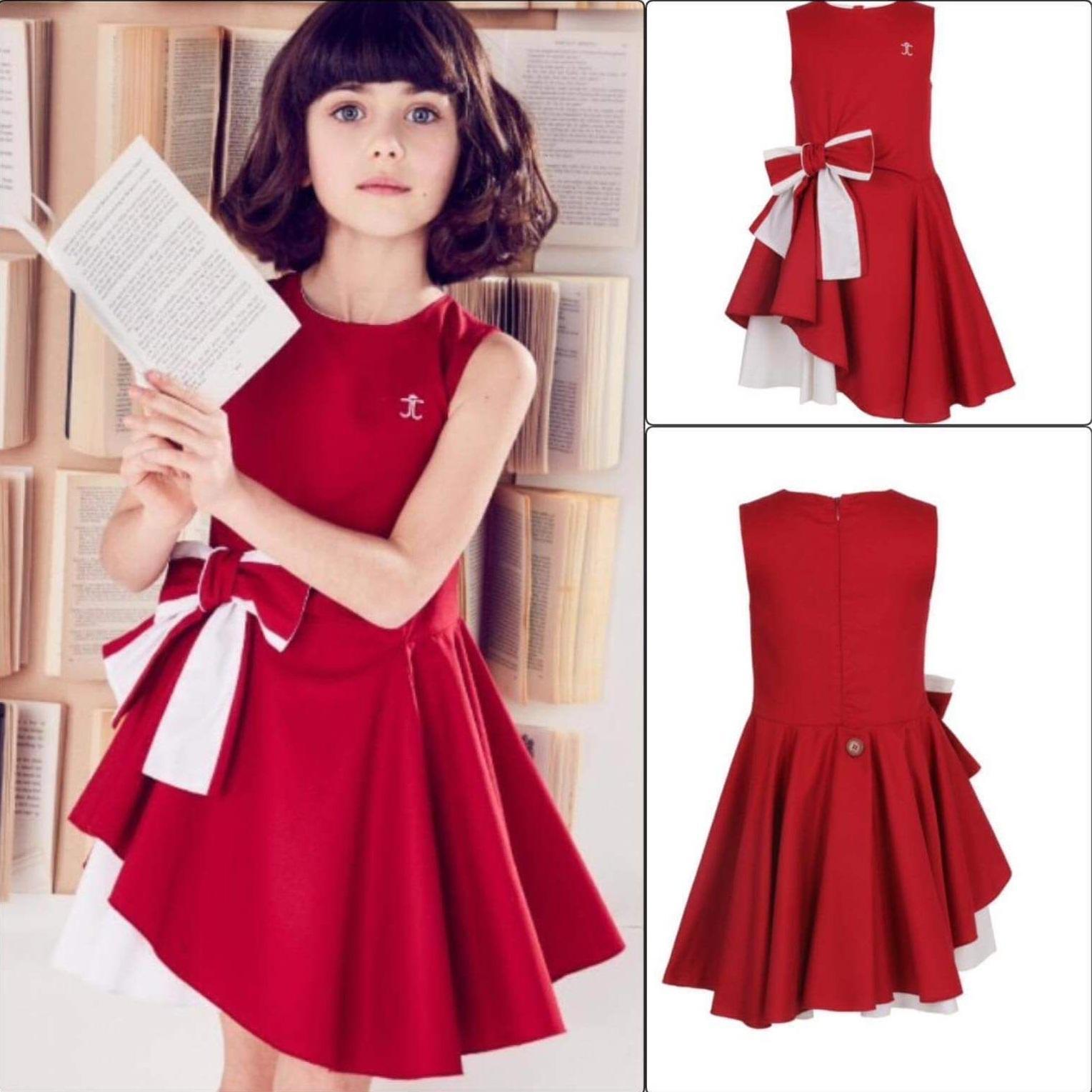 Sukienka swiateczna mikołajka dla dziewczynki - Sukienka dla dziewczynki na swieta  14