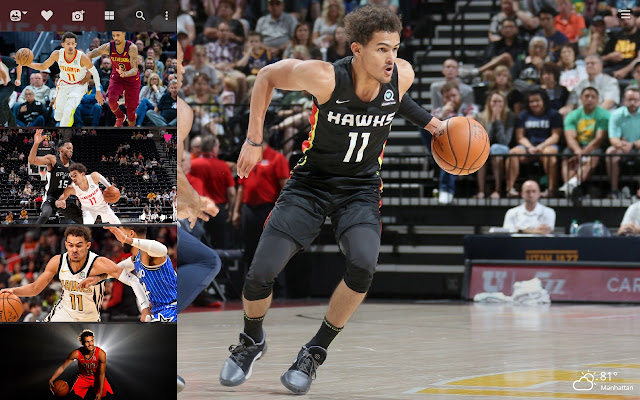 Trae Young Hd Wallpapers New Tab