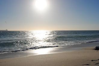 Photo: la spiaggia da Table View dov'era il nostro ostello