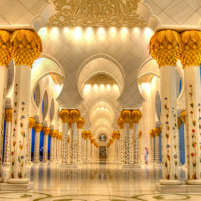 Grand Mosque by Manoj Kumar Kd - Buildings & Architecture Places of Worship ( uae, abu dhabi, mojofotography )