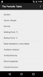 Periodic table flashcards apps on google play screenshot image urtaz Images