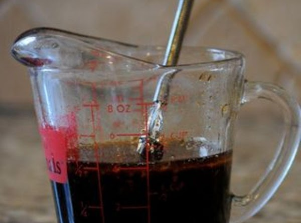 In a blender, combine soy sauce, sugar, molasses or honey, cayenne pepper, garlic and...