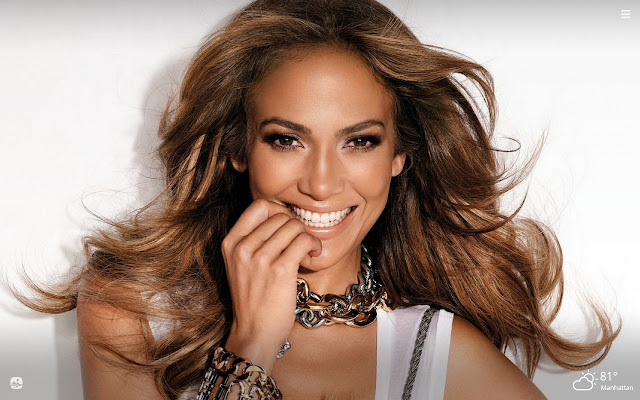 Jennifer Lopez HD Wallpapers New Tab