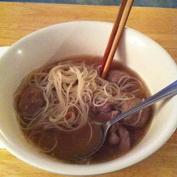 Thai Beef Noodle Soup Recipe