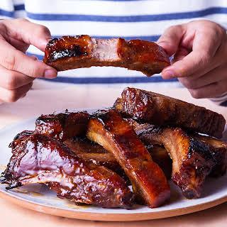 Asian BBQ Pork Spareribs.