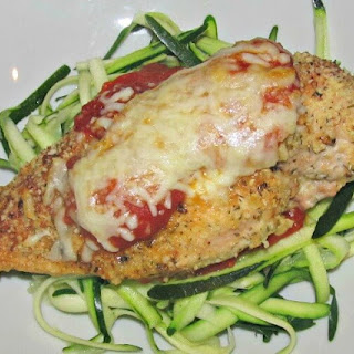 Primal Chicken Parmesan with Zucchini Noodles