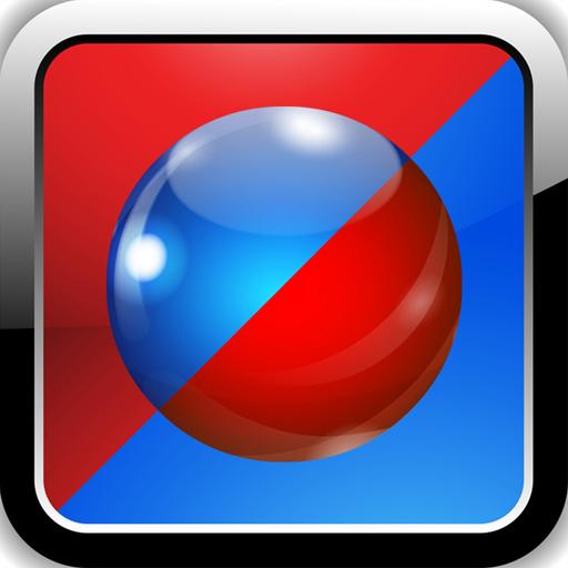 动作のBlue or Red. 激ムズ無料暇つぶしアクションゲーム LOGO-HotApp4Game