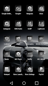 Bacca Gray - Icon Pack screenshot 3