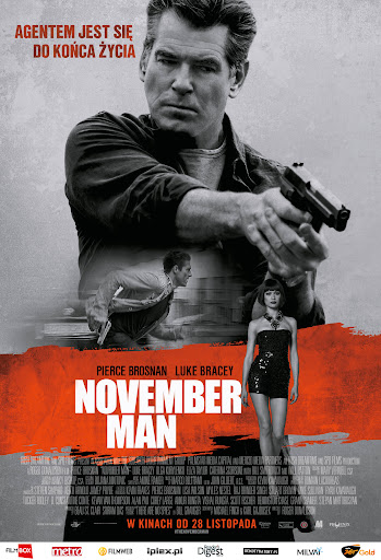 Polski plakat filmu 'November Man'