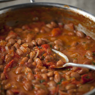 Home-Made Baked Beans.