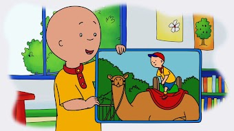 Caillou's Camel Ride/It's Not Too Big For Me!/Caillou's Flying Saucer