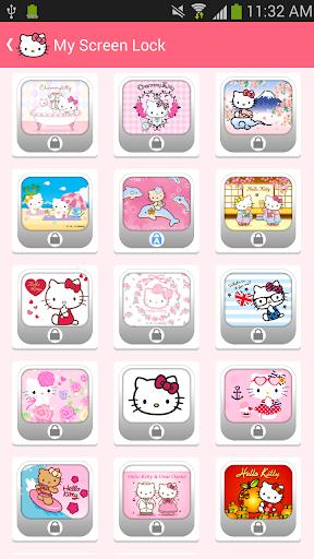 Hello Kitty Animated Lock screenshot 4