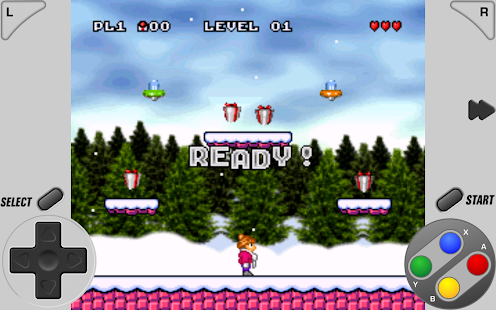 SuperRetro16 (SNES emulador) Screenshot