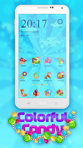 Colorful Candy ZERO Launcher