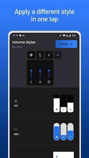 Volume Styles - Panneau de volume personnalisé screenshot 5