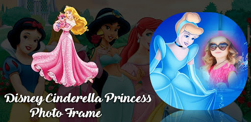 With Cinderella Frames you can create a beautiful frame for your Princess