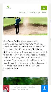 ClubFaceGolf - náhled