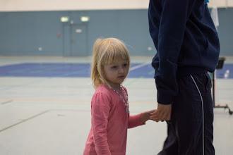 Photo: Auch der Badminton-Nachwuchs durfte Turnierluft schnuppern