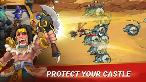 Castle Defender: Hero Idle Defense TD 1.2.4 screenshots 3