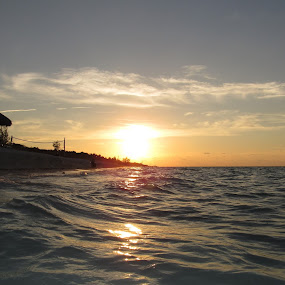 Sunset in Varadero by Paul Popovici - Landscapes Sunsets & Sunrises