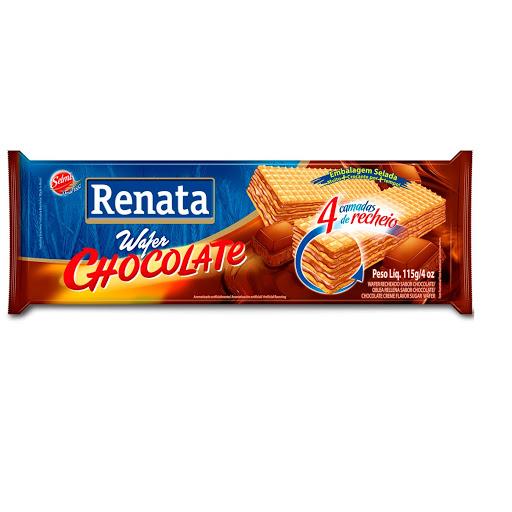 galletas renata wafer chocolate 115gr