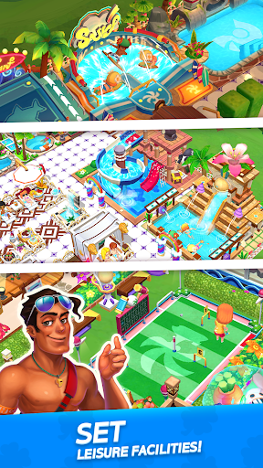 My Little Paradise : Resort Management Game android2mod screenshots 3