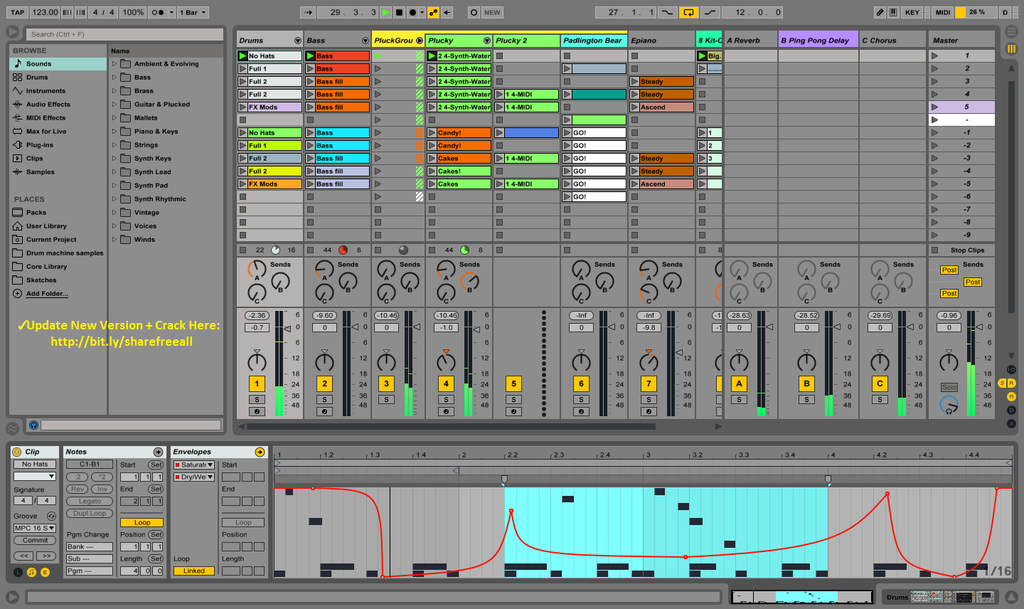 ableton live 9 download free crack